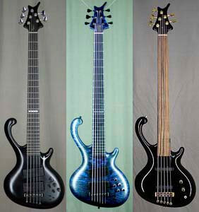 basses by Ritter Instruments